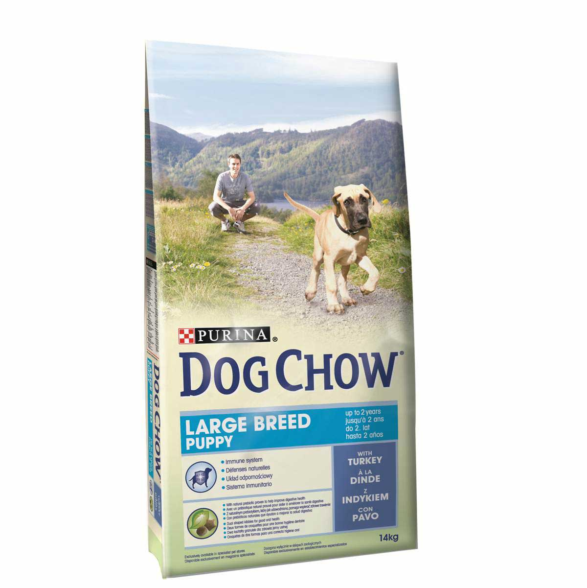 Dog Chow Puppy Large Breed Perú 14 Kg