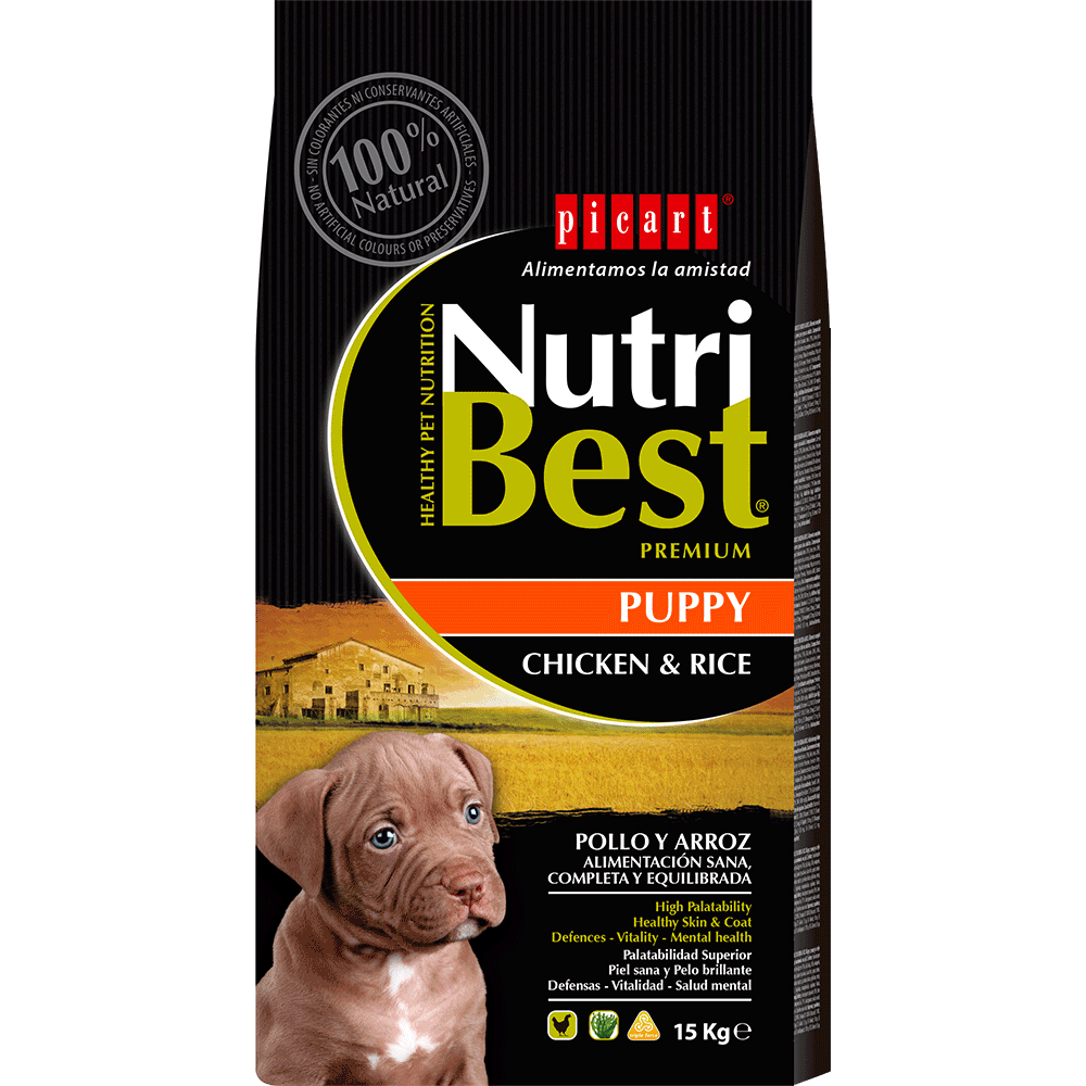 NutriBest Puppy Chicken & Rice 15Kg