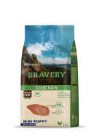 Bravery Dog Chicken Mini Puppy Small Breeds (Grain Free) 7Kg